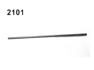 2101 Antriebswelle D=5mm, L=250mm