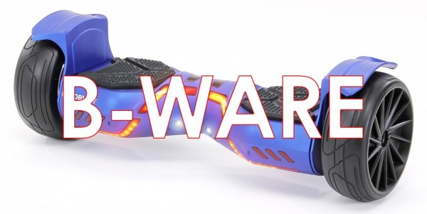 B-Ware E-Balance Hoverboard ROBWAY X2 8,5' Reifen mit App-Funktion